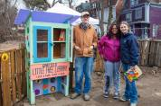Little free library for kids